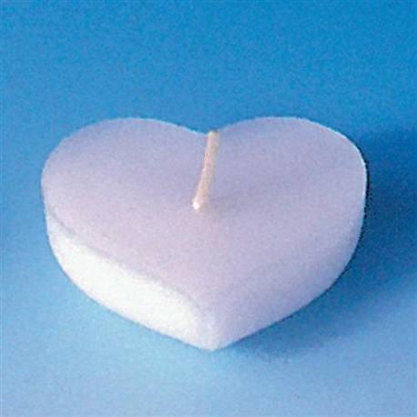 Moules Bougies Flottantes ou Fondants Coeurs