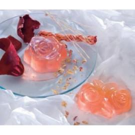 Plaque de Moules pour Savons Assortis Roses