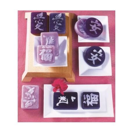 Moule pour Savons Caractères chinois