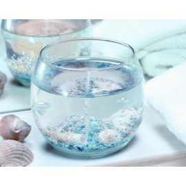 Coquillages assortis pour Bougie Gel