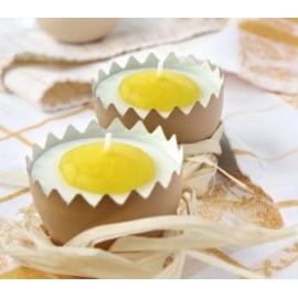 Coquilles d'œuf pour Bougie