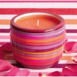 Pot multicolore pour Bougie Coulée