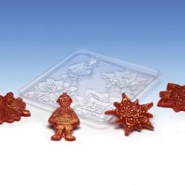 Moule pour décoration de cire Noël