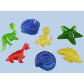 Moule thème dinosaure et fossiles