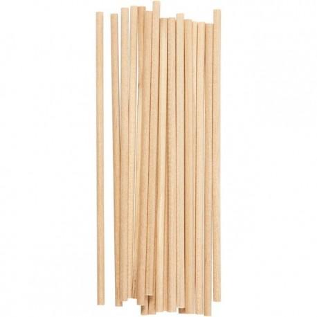 Bâtonnets en bois bougie à piquer